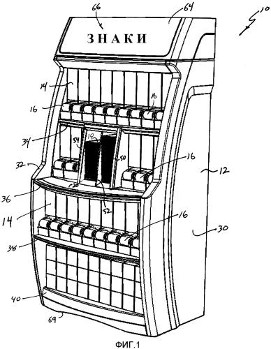 Система выкладки и загрузки товаров