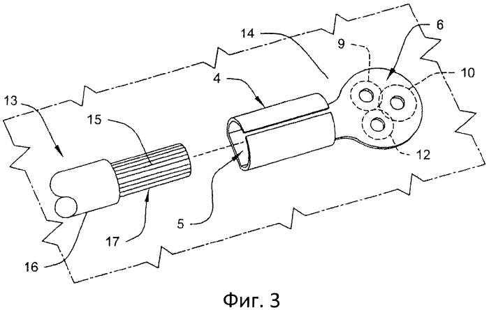 Присоединительное устройство для заземления питаемого постоянным током электрического компонента