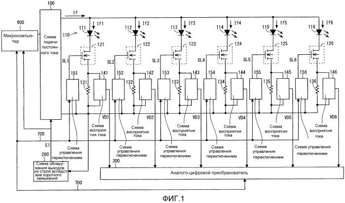 Устройство управления источниками света и способ управления источниками света