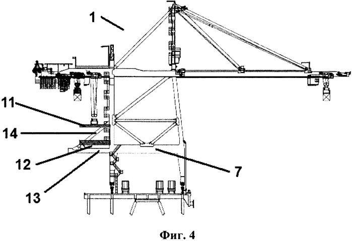 Система для загрузки и выгрузки груза при портовых операциях