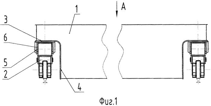 Способ соединения балки моста мостового крана с балансирными тележками механизма передвижения