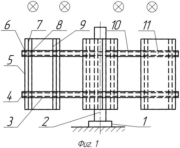 Ветродвигатель вертикальный