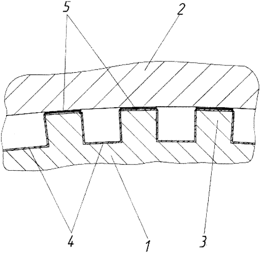 Способ изготовления двухслойных паяных конструкций