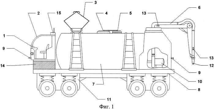 Электроробот - водовоз для заливки воды в баки на фермах
