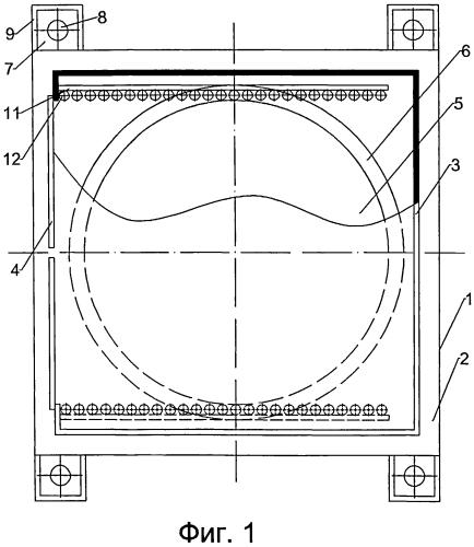 Плавучий док для строительства объектов с несудовыми обводами
