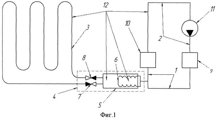 Система отопления пола жилых и производственных помещений