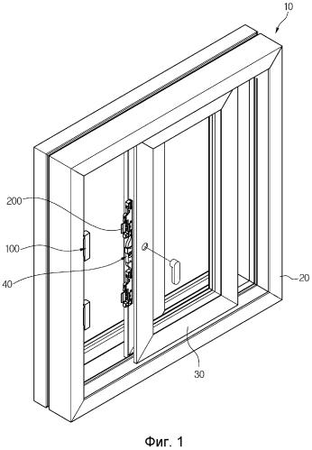 Окно с функцией горизонтального перемещения