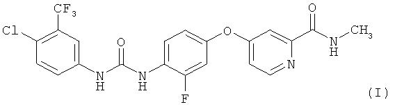 Способ получения 4-{4-[({[4-хлор-3-(трифторметил) фенил] амино}-карбонил) амино]-3-фторфенокси}-n-метилпиридин-2-карбоксамида, его солей и моногидрата