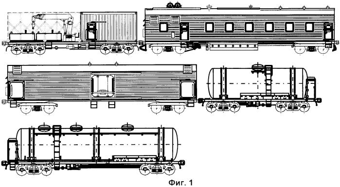 5-вагонный поезд азотного охлаждения