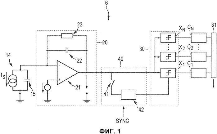 Устройство обнаружения для обнаружения фотонов, испускаемых источником излучения