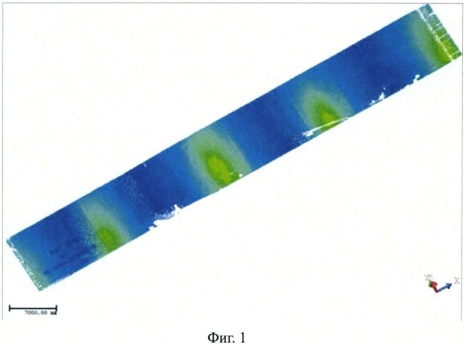 Способ определения величин деформаций стенки резервуара вертикального цилиндрического
