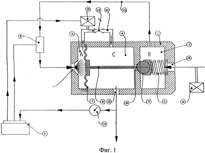 Редуктор-регулятор давления для питания двигателей внутреннего сгорания метаном или другими подобными топливами
