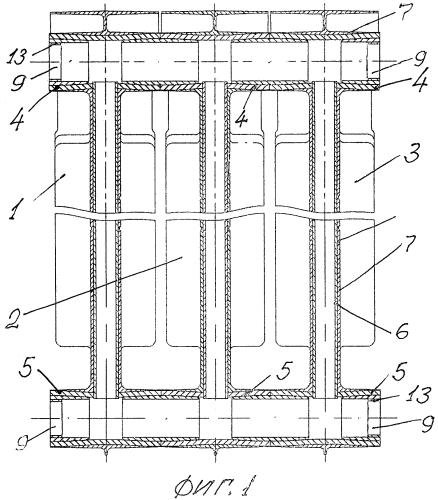 Способ изготовления секционного биметаллического радиатора
