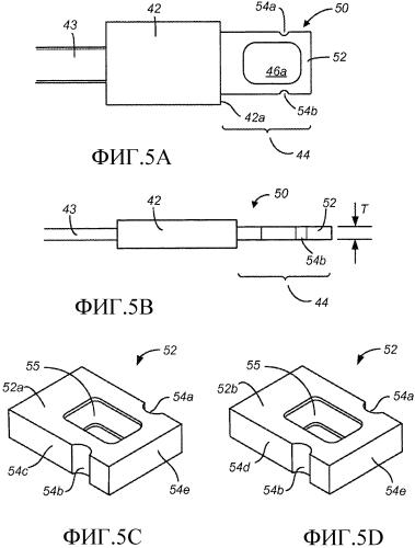 Электронный соединитель с двойной ориентацией и внешними контактами