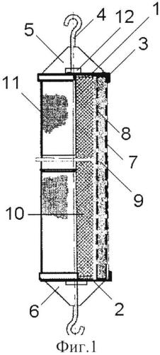 Звукопоглотитель кочетова для глушителей шума компрессорных станций