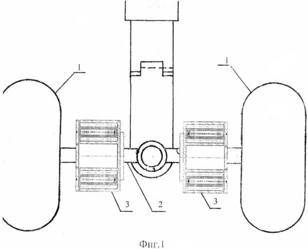 Способ раскрутки-торможения колес шасси