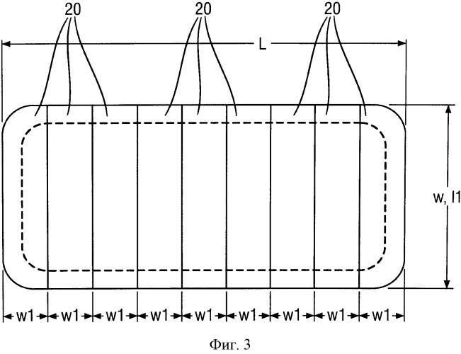 Абсорбирующая сердцевина для одноразового абсорбирующего изделия