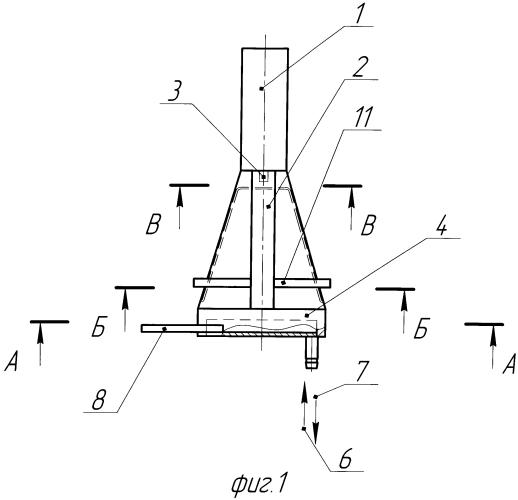 Подовый электрод дуговой печи постоянного тока