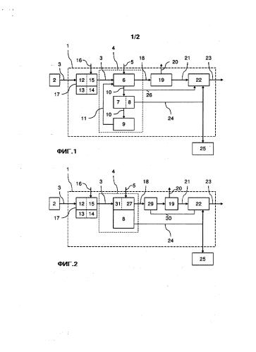 Способ и устройство для получения электроэнергии и гипса из отработанных газов, содержащих сероводород