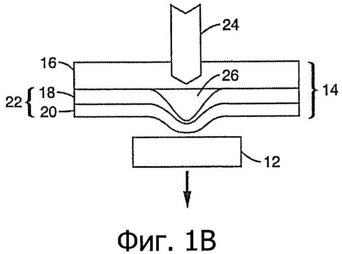 Избирательный лазерно-стимулированный перенос дискретных компонентов