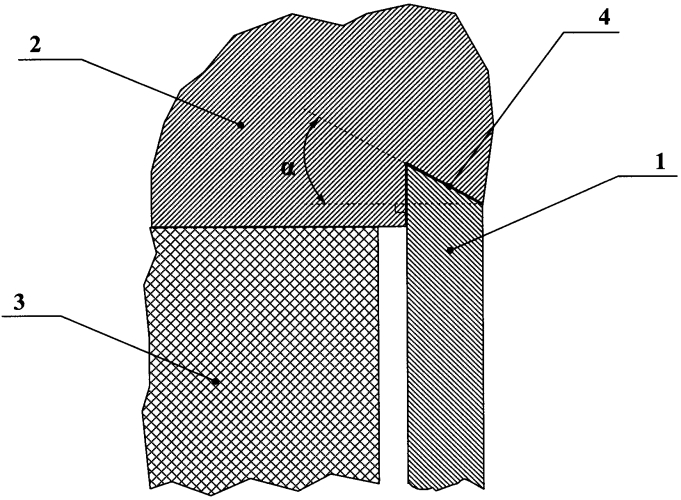 Способ задержки прорыва продуктов взрыва по краям метаемой пластины-ударника