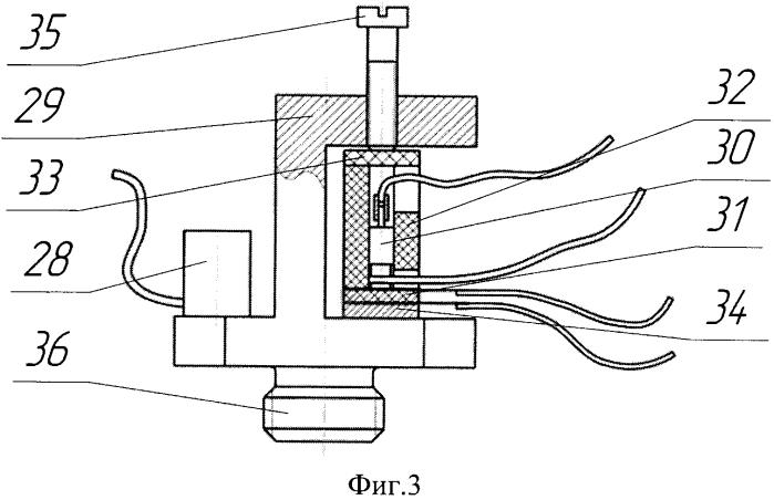 Стенд для исследования рабочих характеристик быстродействующих электродетонаторов