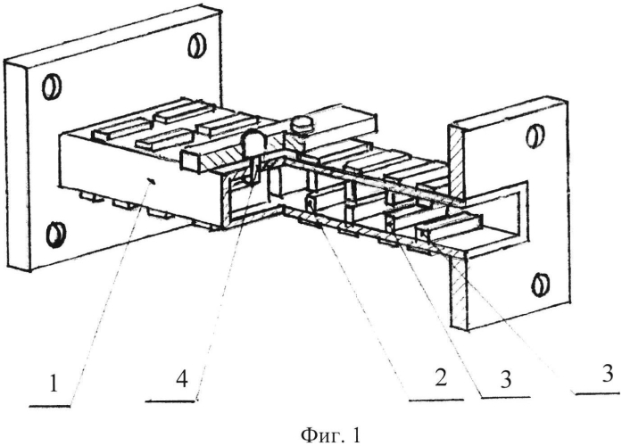 Волноводный фильтр нижних частот