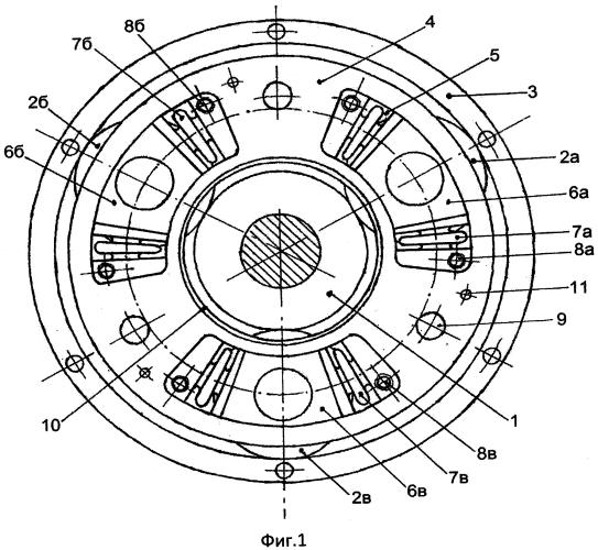 Однорядный планетарный редуктор