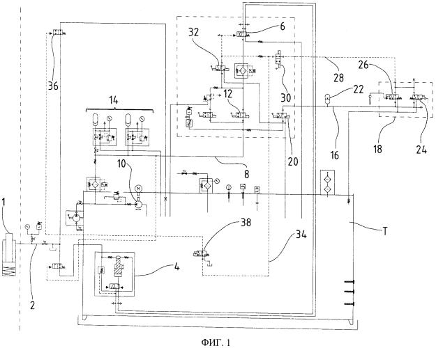 Гидравлическое оборудование для арматуры, предназначенной для добычи и транспорта преимущественно ископаемого топлива