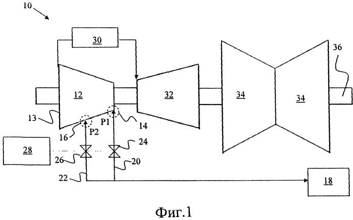 Паротурбинная установка (варианты) и корпус паровой турбины