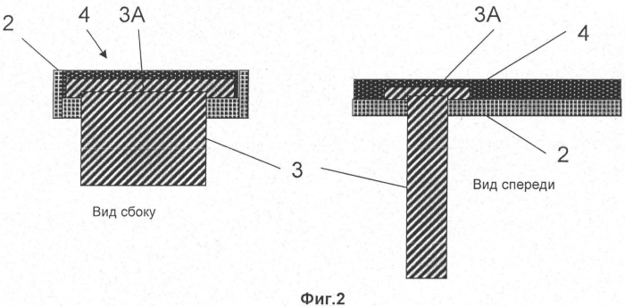 Крепление лопатки в держателе из композитного материала путем фиксации