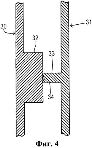 Активный буфер с внутренними разрывными соединениями