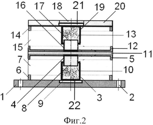 Виброизолятор сдвоенный сетчатый кочетова