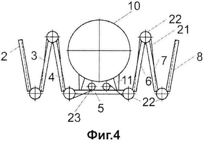 Рама радиолокационной антенны космического аппарата