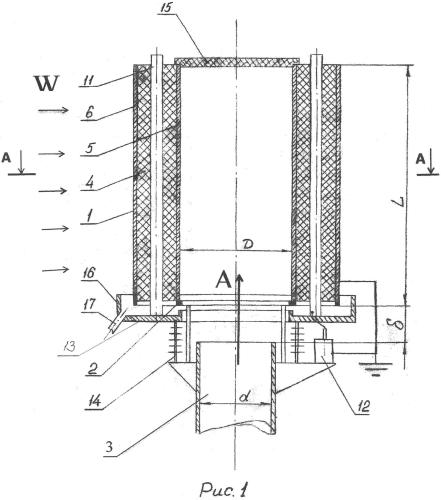Фильтр очистки газового потока