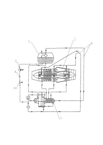 Способ эксплуатации газотурбинного двигателя в наземных установках