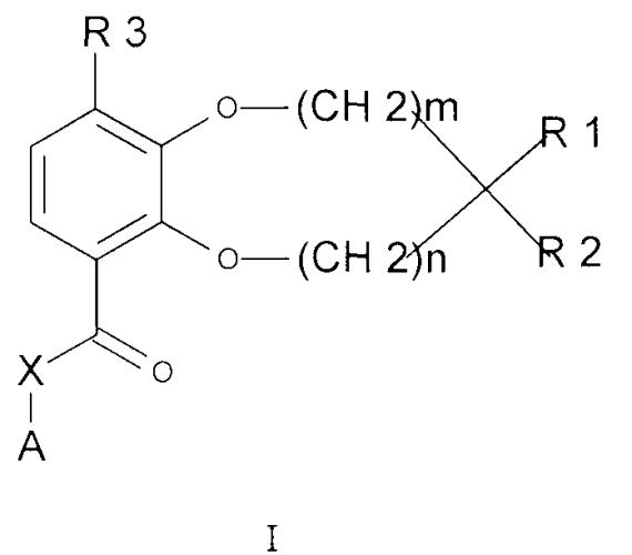 Гетероциклические соединения бензодиоксола или бензодиоксепина в качестве ингибиторов фосфодиэстераз