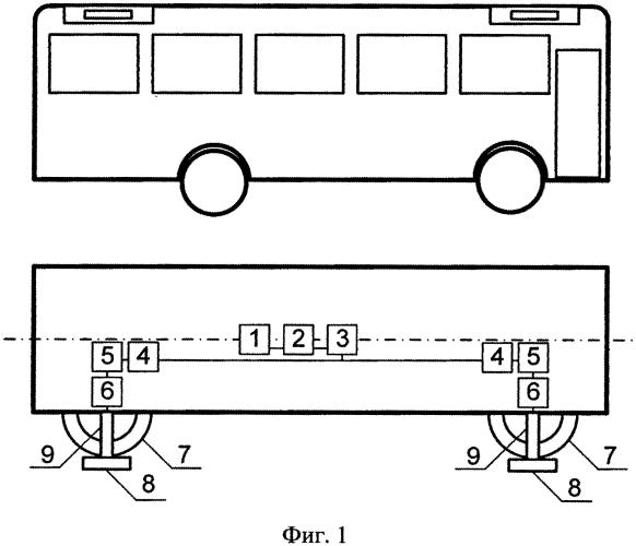 Устройство для предотвращения опрокидывания транспортного средства