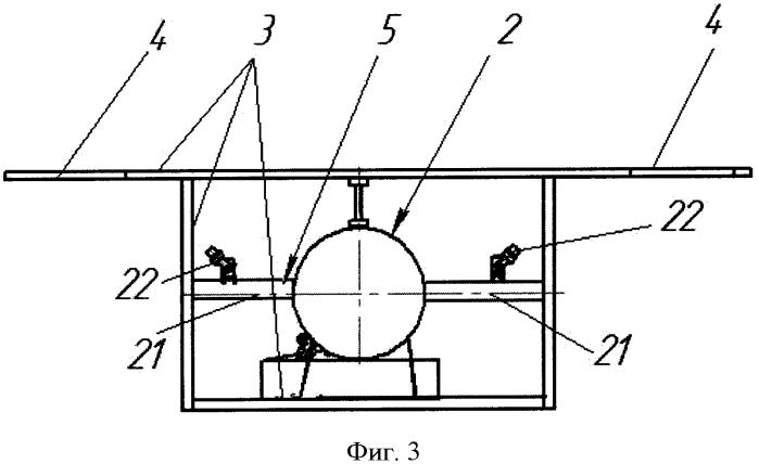 Мишень имитатор вертолета полигонного комплекса для испытаний боевого снаряжения сухопутных войск