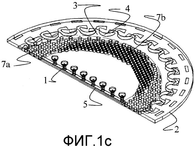 Планарная линейная фазированная антенная решетка с расширенным сканированием луча