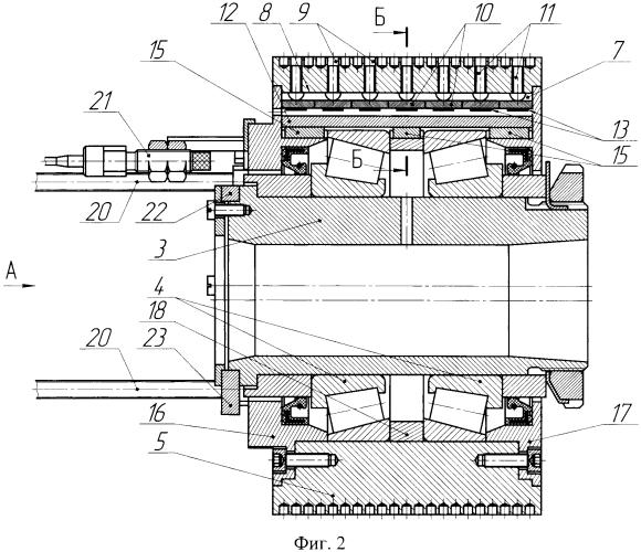 Силоизмерительный прессующий ролик пресс-гранулятора