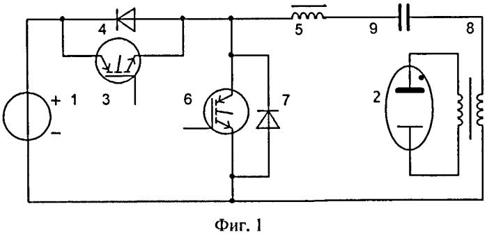 Способ электропитания разрядного несимметричного генератора озона