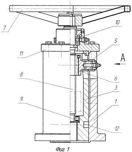 Неполноповоротный ручной привод для трубопроводной арматуры