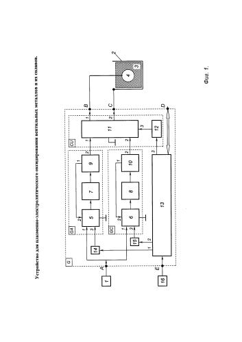 Устройство для плазменно-электролитического оксидирования вентильных металлов и их сплавов