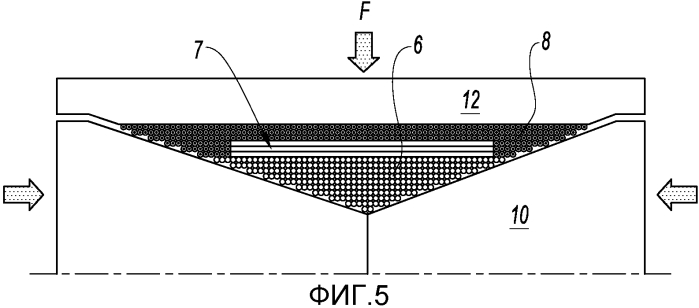 Способ изготовления моноблочной осесимметричной металлической детали, содержащей усиление из керамических волокон