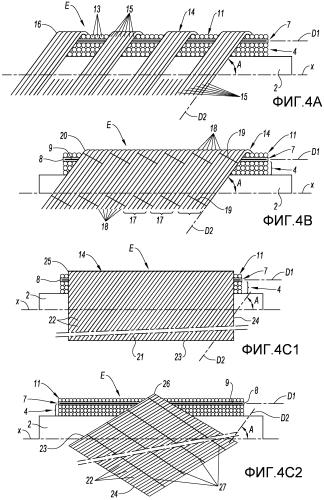 Способ изготовления металлической моноблочной детали вращения на основе композитных волокнистых структур