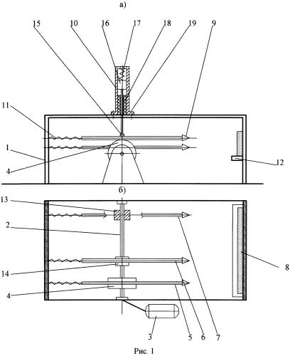 Стенд для ударных испытаний образцов материалов