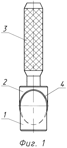 Калибр для тангенциальных отверстий