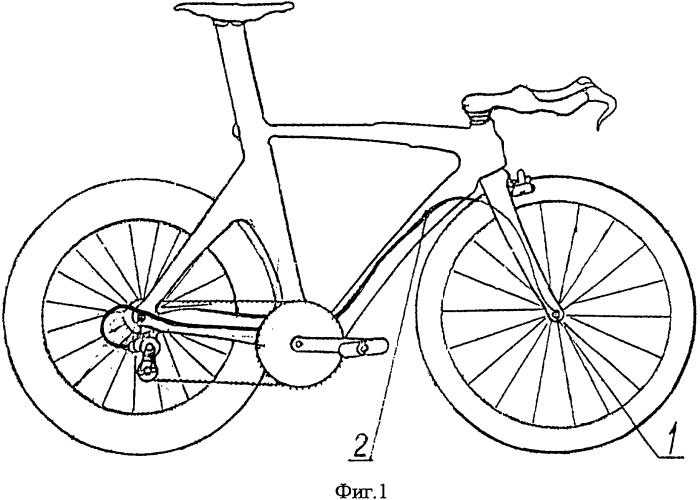 Велосипед с автоматическим переключением скоростей