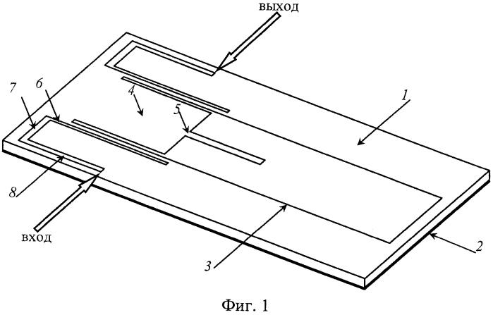 Широкополосный полосно-пропускающий фильтр